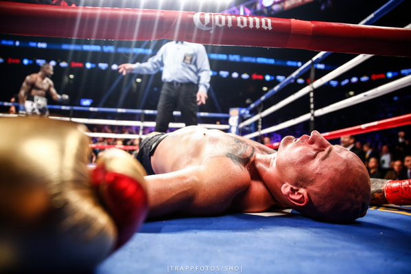 WATCH: Deontay Wilder BRUTALLY KO'd Artur Szpilka To A Different Planet (Video)
