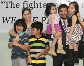 Pacquiao family