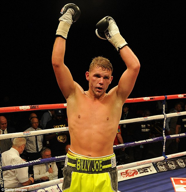 Billy Joe Saunders has his opponent for first title defense