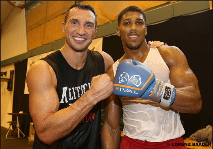 ICYMI:  Wladimir Klitschko and Anthony Joshua agree to terms