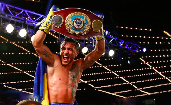 Walters gives up after 7th round, Lomachenko winner by TKO