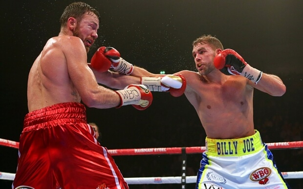 Billy Joe Saunders edges out decision win against Akavov