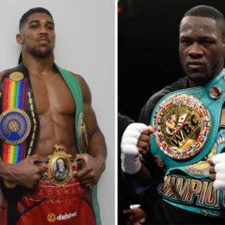 Joshua vs Wilder penciled in for late 2017/early 2018